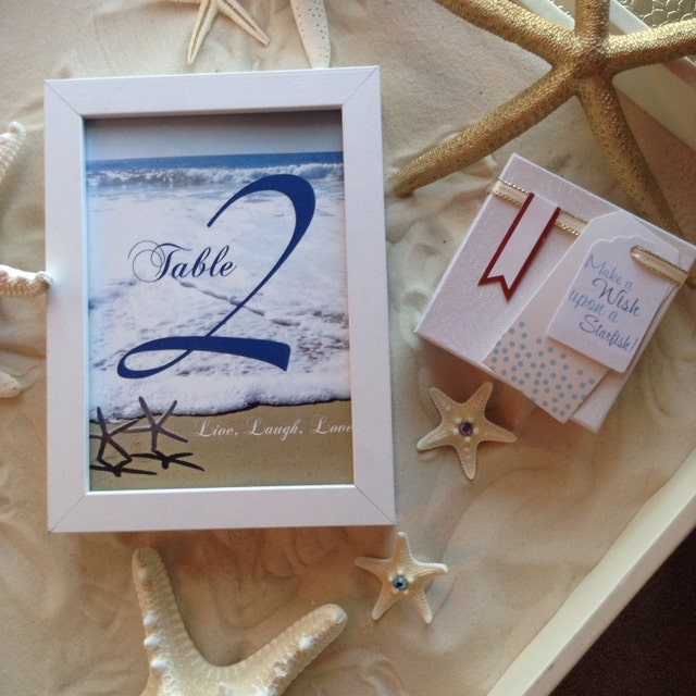 Personalized Beach Wedding Gifts: Unique Personalized Beach Gifts And Wedding/ By