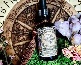 LITHA Ritual Oil~Mid-Summer ~SUMMER SOLSTICE ~ Sacred Sabbat Oil ~ Wheel of the Year~ Magick Ritual Oil ~ Crystal Charged ~ Handfasting