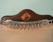Vintage Horse Head Tie Rack or Jewelry/Scarf Holder