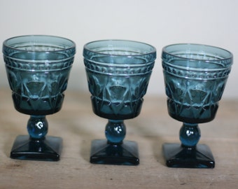 vintage colony park lane cordials set of three