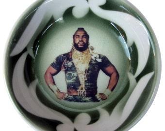 """Mr. T Portrait Bowl -  4.9"""""""