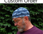 Custom Cooling Cap in Navy with Armour Gray Band