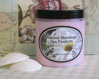 PINK SUGAR  Whipped Body Parfait Natural Blendings Most Popular Product in a Brand New Fragrance Made to Order 8 OZ Jar