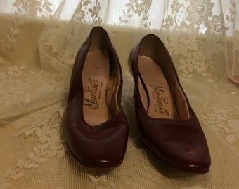 Beautiful Burgundy Pumps