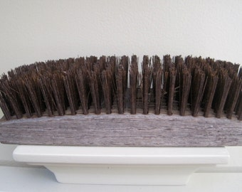 Vintage Wire Brush Block with wire bristles