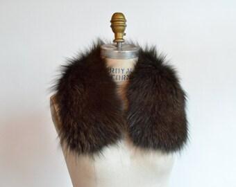 SALE / Vintage FOX fur collar
