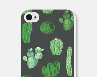 iPhone SE Case Cactus Phone Case Unique iPhone 6 Case Gift Cactus iPhone 7 Case Cactus iPhone 5 Case Samsung Galaxy S7 Case Cactus