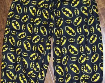 Adult Batman Pants, golf knickers, clown pants, one size fits most Custom made New