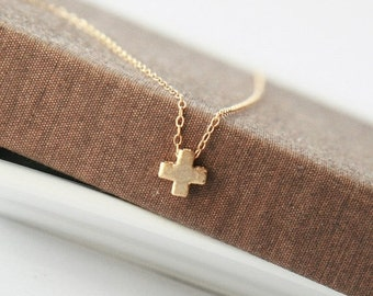 Cross Necklace,Tiny Necklace,Tiny Gold Cross,Minimalist Jewelry,Delicate Necklace,Tiny Necklace,Mothers Day,Mothers Day Gift