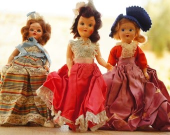 Vintage 40s-50s Dolls Instant Collection/ Victorian/ Shabby Chic/ Retro/ Mid Century/Gypsy/Bohemian/Collectibles
