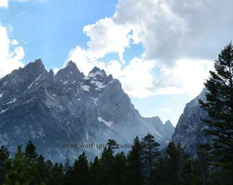 Grand Tetons Photography, Mountain Photography, Landscape Nature Photo