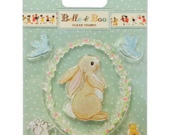 Belle & Boo Clear Stamps- Boo