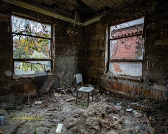 Sweet Seat II Abandoned House Fine Art  Print