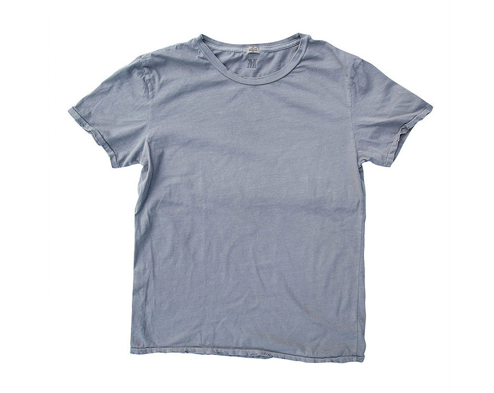 QMC Roughed Up Tee - Silver Grey - 100% Cotton Jersey T-Shirt
