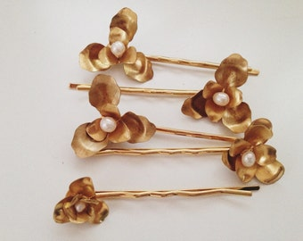 Bize blossom hairpin SET of 5 #1322