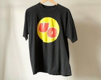vintage URGE OVERKILL 90s alternative PULP fiction trainspotting era t-shirt tour vintage black shirt