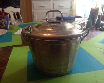 Vintage Bucket Style Jello Mold Congealed Salad