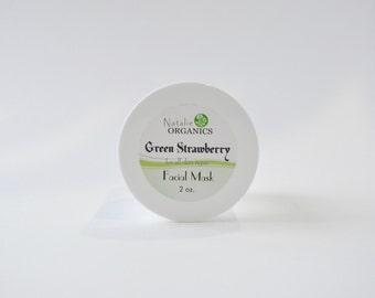 Green Strawberry Facial Mask 2 oz.