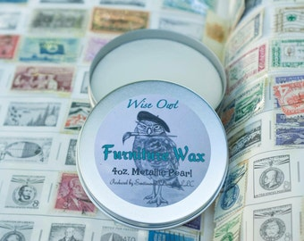 Wise Owl Furniture Wax- 4 oz. size