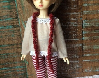 Jolly maroon outfit for YoSD