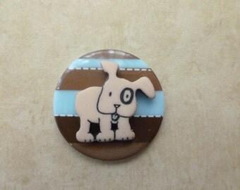 Cute Little Dog - Magnet