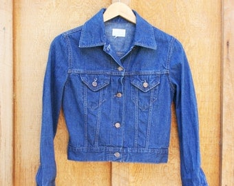 Vintage Sears JR Bazaar Denim Jacket