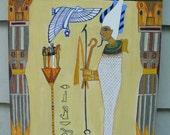 The Magician Tarot card painting
