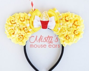 Pineapple whip Rose Mouse Ears