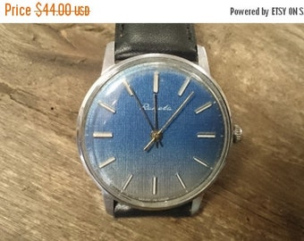 25 OFF SALE Vintage watch Raketa, mechanical watch, men watch, mens watch,