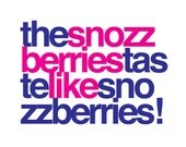 Custom Pop Culture Texts: The Snozzberries (Print in Pink & Purple)