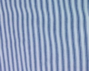 Vintage Blue & White Ticking Stripe ****Ships Free****