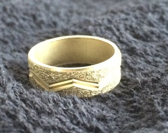 ring, wedding ring, faux gold, costume jewelry