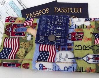 Dollbirdies Original Long Boarding Pass Passport Wallet