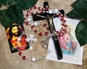 Traditional Thirty-Nine Bead Catholic Chaplet of The Sacred Heart of Jesus