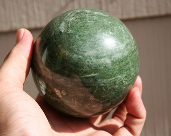 Green Aventurine Sphere Super Large High Quality