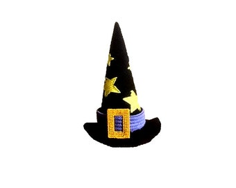 Plastic Canvas Witch's Hat Instant Download