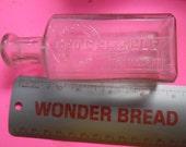 Pharmacy bottle, medicine bottle, druggist bottle, vintage Blakely drug bottle
