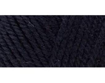 297899 E728-4614  Red Heart Soft Yarn - Black