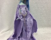 Lavender Medieval Gown Designed for Your Monster High Doll-SALE