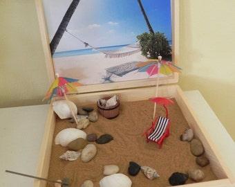 Beach Sand Box/Desk Top box