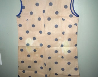 Vintage Polka Dot Paper Dress