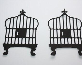 18 x Bird Cage Die Cuts
