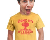 mens vintage shirt funny mens t-shirt retro looking shirts for guys i love new mexico area 51 atomic bomb nuclear explosion tee cotton tees