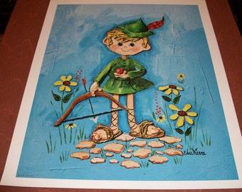 2 Edna Vierra  Art Prints  Robin Hood & Red Riding Hood