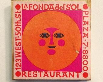 Alexander Girard Matchbox - La Fonda del Sol - NYC