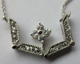 PENDANT - MOVEABLE DESIGN - Sterling --- Can be worn in different styles