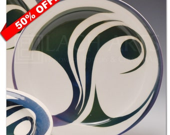 "50% OFF - ""In The Deep"" Salad Plate"