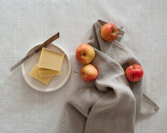Linen Kitchen Towels, Hand Towel, Natural Linen Dish Towel, Linen Tea Towel