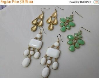 CIJ 60% SAVINGS Avon Waterfall Pierced earrings lot