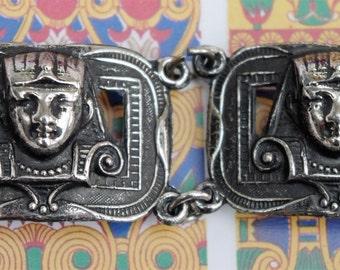 Vintage - Egyptian - Tutankhamun Bracelet - c1960s